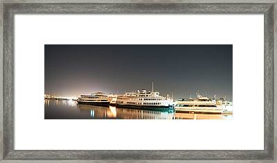 Ship Framed Print by Gandz Photography