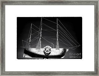 Ship Framed Print by John Rizzuto