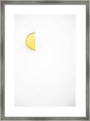 Framed Print featuring the photograph Ship Light by Darryl Dalton