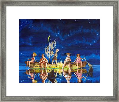 Ship Of Fools Framed Print by Matt Konar