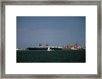 Ship Of State 2 Framed Print by John Harding