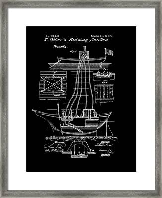 Ship Recovery Patent Framed Print