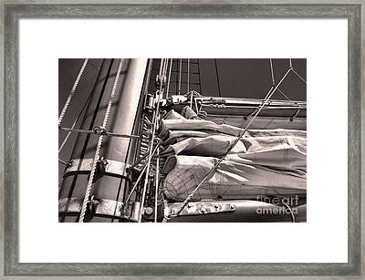 Framed Print featuring the photograph Ship Shape 1 by John S
