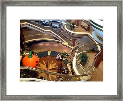 Ship Stairs Framed Print by Jim Hubbard