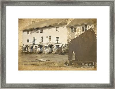 Shipbuilding Yard Framed Print by Sophie Vigneault