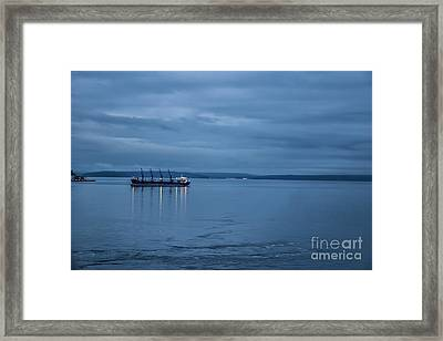 Shippng Lane Framed Print by Eric Chegwin