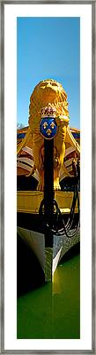 Ships Figurehead Of The Count Of La Framed Print