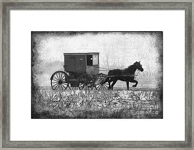 Shipshe Buggy Framed Print by David Arment