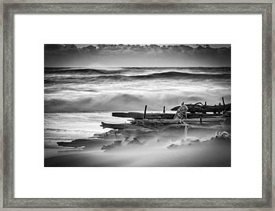 Shipwreck Framed Print