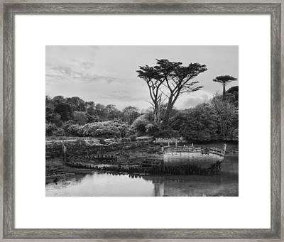 Shipwreck Framed Print by Hugh Smith