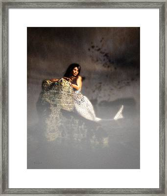 Shipwreck Mermaid Framed Print