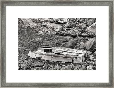 Shipwrecked In Queens Framed Print by JC Findley