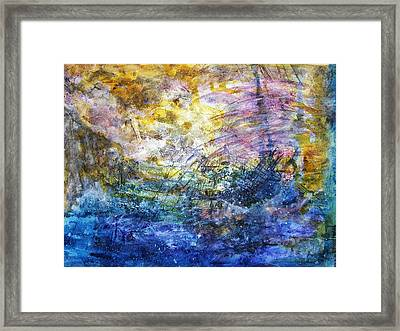 Shipwrecked Framed Print by Mimulux patricia no No