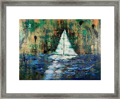 Shipwrecked Framed Print by Nan Bilden