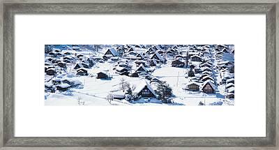 Shirakawagou Gifu Japan Framed Print