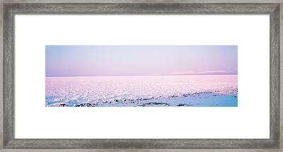 Shiretoko-hantou Hokkaido Japan Framed Print by Panoramic Images