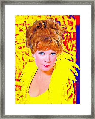 Shirley Maclaine In What A Way To Go Framed Print by Art Cinema Gallery