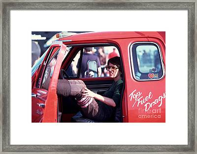 Shirley's Ride Framed Print by Michael Swanson