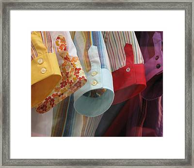 Shirts Framed Print