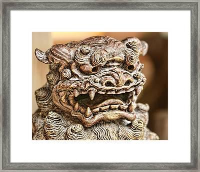Shisha Framed Print by Karen Walzer