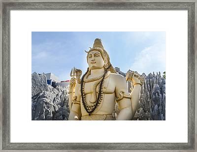 Shiva Indian God Framed Print