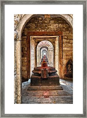 Shiva Lingam Framed Print