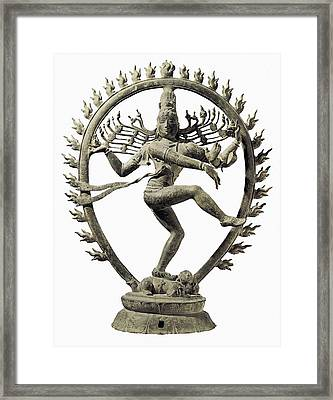 Shiva Nataraja, King Of Dance Framed Print
