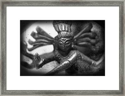 Shiva Nataraja  Framed Print by Tommytechno Sweden