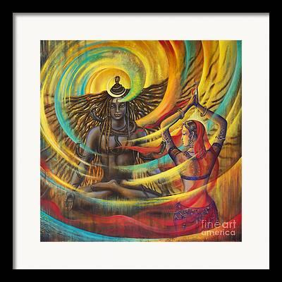 Goddess Durga Framed Prints