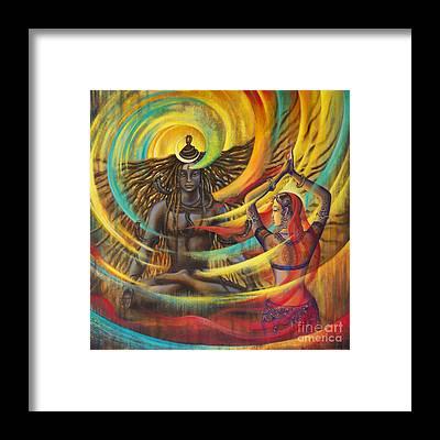 Hinduism Framed Prints