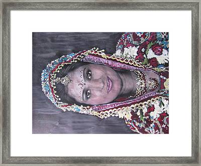 Framed Print featuring the painting Shiva by Vikram Singh