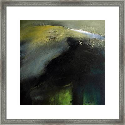 Shivering Mountain Framed Print by Neil McBride