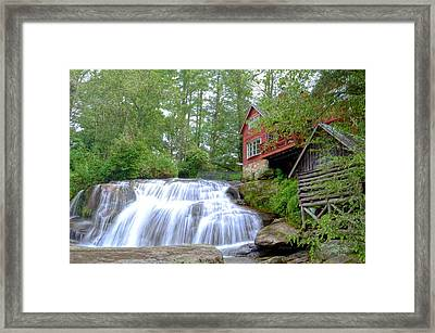 Shoal Creek Falls Framed Print by Bob Jackson