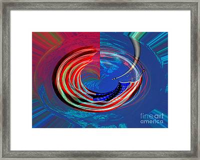 Shock And Awe Framed Print
