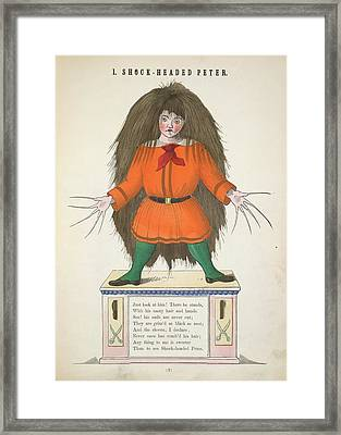 Shock-headed Peter Framed Print