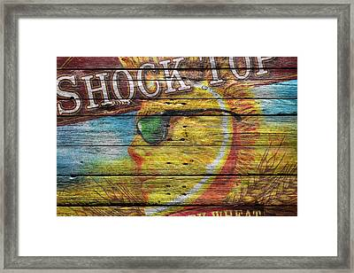 Shock Top Framed Print by Joe Hamilton