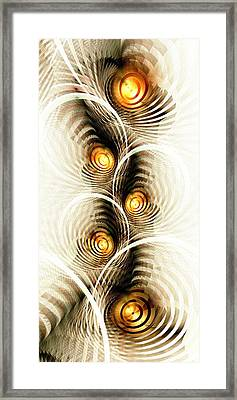 Shock Waves Framed Print