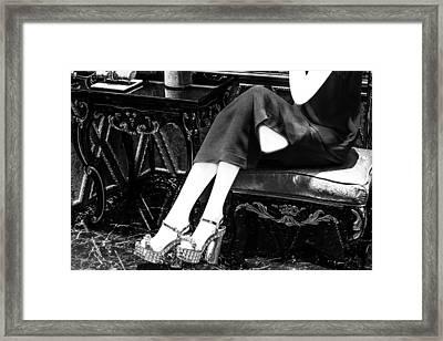 Shoe Art Framed Print