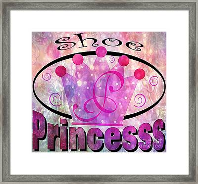 Shoe Princess Framed Print