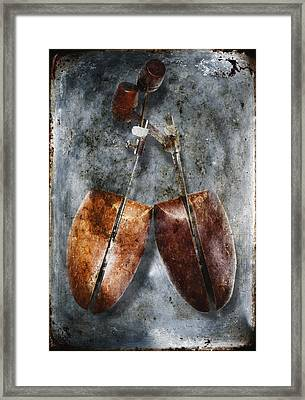 Shoe Trees Framed Print by Skip Nall