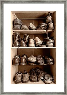 Shoebox Framed Print by Sinisa Botas