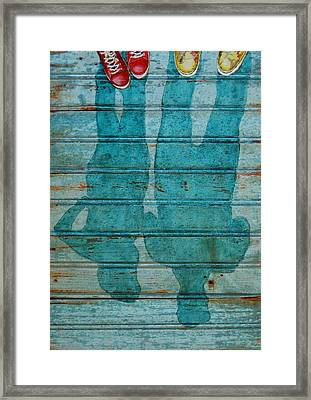 Shoegazers Framed Print by Danny Phillips