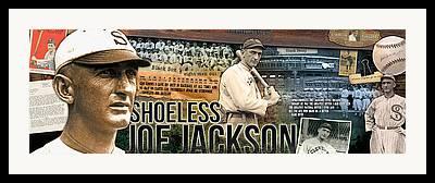 Shoeless Joe Framed Prints