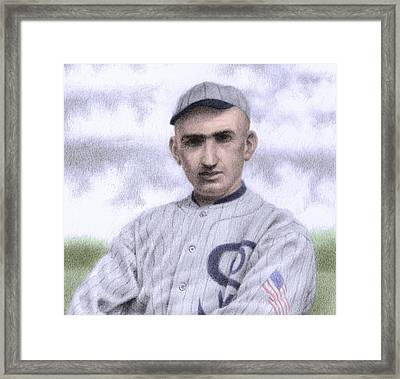 Shoeless Joe Framed Print by Steve Dininno