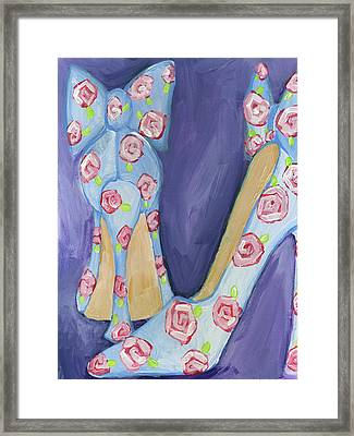 Shoes Framed Print by Anne Seay