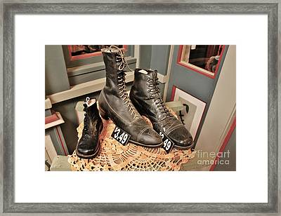 Shoes For Sale Framed Print