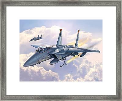 Shogun Eagles Framed Print by Stu Shepherd