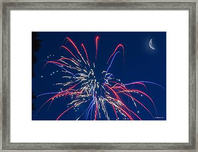 Shoot 4 The Moon Framed Print by Brian Wallace