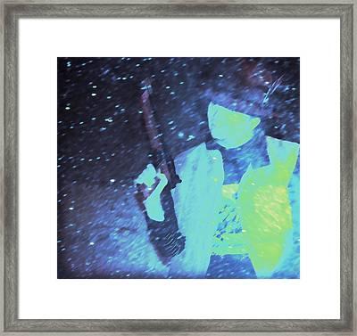 Shooting Star 1 Framed Print by Carolina Liechtenstein