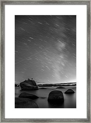 Shooting Stars Framed Print by Brad Scott